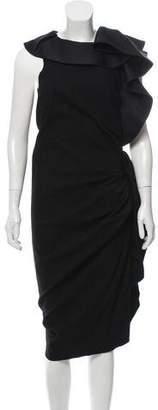 Lanvin Linen Evening Dress