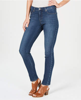 Style&Co. Style & Co Petite Studded Tummy-Control Jeans, Created for Macy's