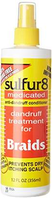 Sulfur8 Sulfur 8 Dandruff Treatment For Braids 12 oz. Spray