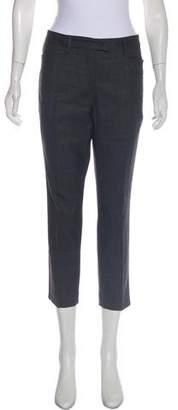 Isabel Marant Wool Mid-Rise Pants