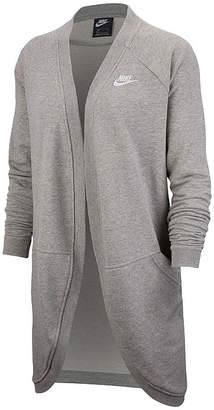 Nike Womens Crew Neck Long Sleeve Cardigan