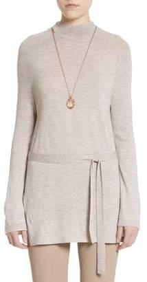St. John Wool Belted Tunic