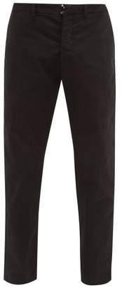 J.w.brine J.W. Brine J.w. Brine - Austin Cotton Blend Herringbone Trousers - Mens - Black