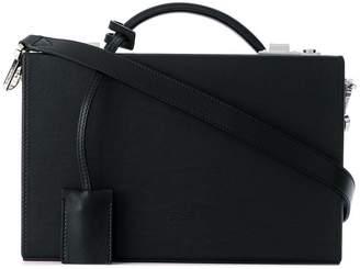 Calvin Klein briefcase style shoulder bag