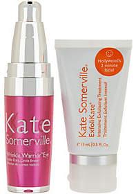 Kate Somerville Wrinkle Warrior Eye Gel &Exfolikate Mini