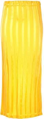 Zero Maria Cornejo striped pencil skirt