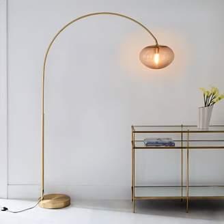 west elm Overarching Ripple Acrylic Floor Lamp