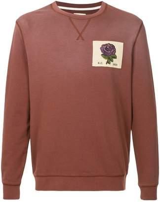 Kent & Curwen ombré sweatshirt