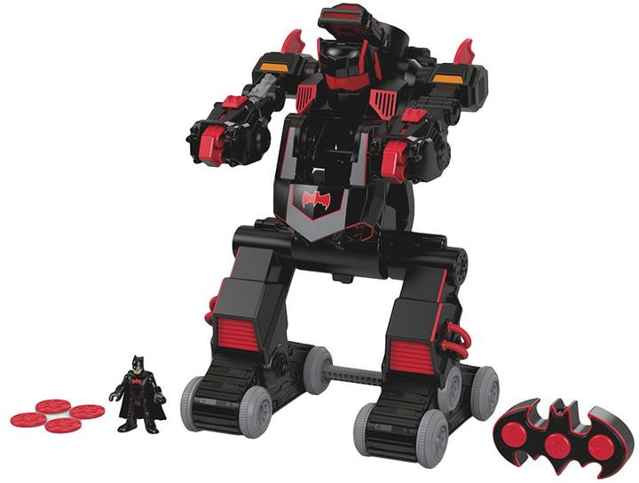 Fisher-price Imaginext DC Super Friends RC Transforming Batbot