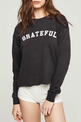 Spiritual Gangster Grateful Arch Crop Sweatshirrt