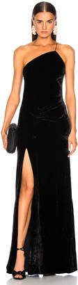 Cinq à Sept Liza Gown in Black | FWRD