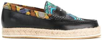 Etro multi-print loafers