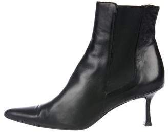 a. testoni a.testoni Leather Ankle Boots