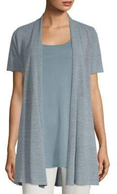 Eileen Fisher Short Sleeve Cardigan