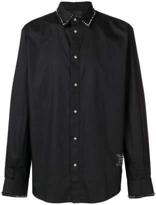 John Richmond spike stud embellished shirt