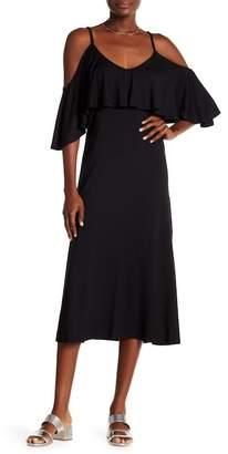 Rachel Pally Jae Cold Shoulder Midi Dress