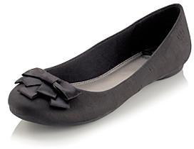 "Fergalicious Adele"" Ballet Flat - Black"