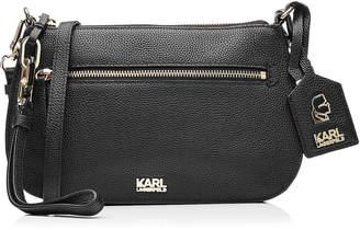 Karl Lagerfeld Leather Shoulder Bag