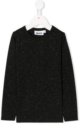 Molo lurex speckle sweatshirt