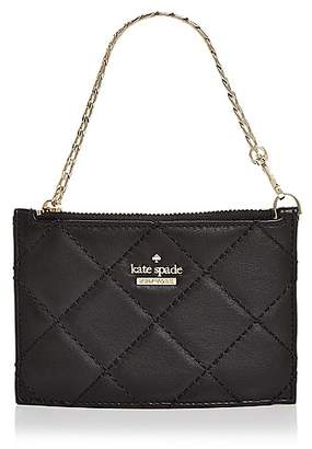 Kate Spade Emerson Place Caroline Quilted Leather Wristlet