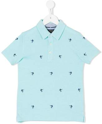 Ralph Lauren swordfish embroidered polo shirt