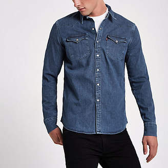 Levi's denim western shirt