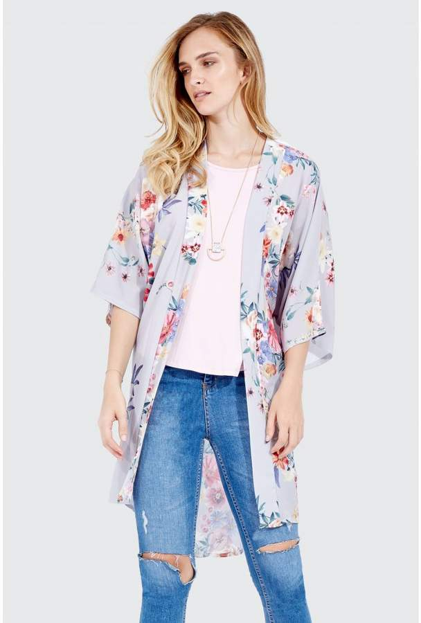 Botanic Floral Kimono Soft Jackets