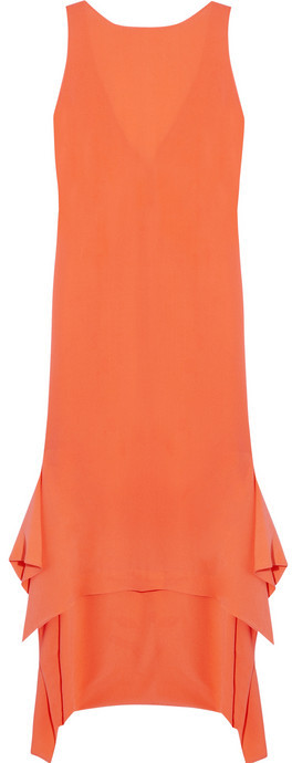 Willow Silk-crepe dress
