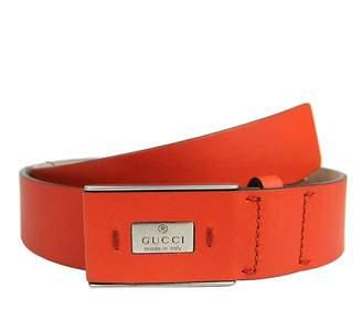 Gucci Men's Leather Hidden Buckle Trademark Belt 353345 (110/44)