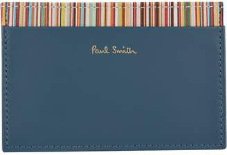 Paul Smith Multistripe Trim Card Holder