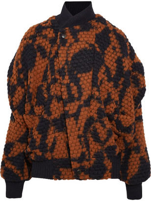 Vivienne Westwood Anglomania - Fever Wool-blend Bomber Jacket - Orange