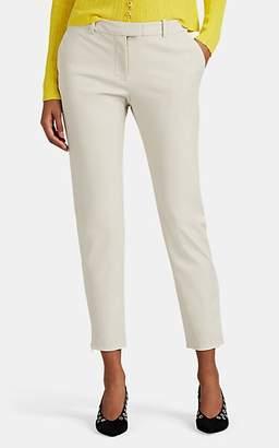 Altuzarra Women's Henri Twill Crop Pants - Beige, Tan