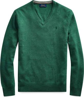 Ralph Lauren Merino Wool V-Neck Sweater