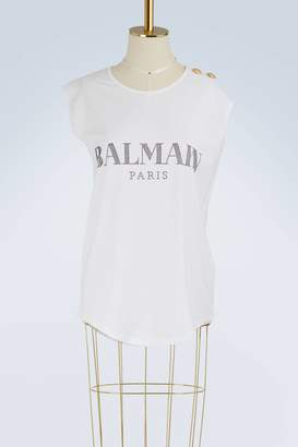 Balmain Strass logo top
