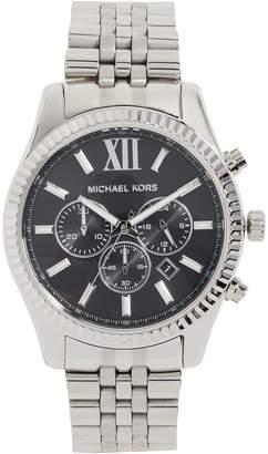 Michael Kors Lexington Stainless Steel Watch, 44mm