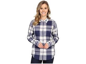 The North Face Long Sleeve Shade Me Shirt (Patriot Blue Plaid