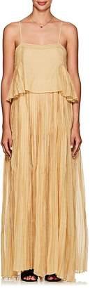 Thierry Colson Women's Salome Cotton-Silk Maxi Dress