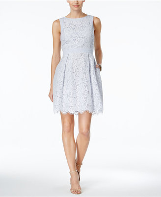 Jessica Howard Floral Lace Fit & Flare Dress $89 thestylecure.com