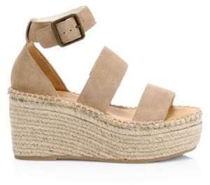 4f199ea806cb at Saks Fifth Avenue · Soludos Women s Palma Suede High Platform Espadrille  Sandals - Walnut - Size 5