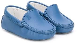 Tod's Kids logo embossed pre-walker shoes