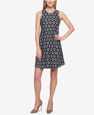 Tommy Hilfiger Lace Trapeze Dress