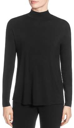 T Tahari Mock-Neck Sweater