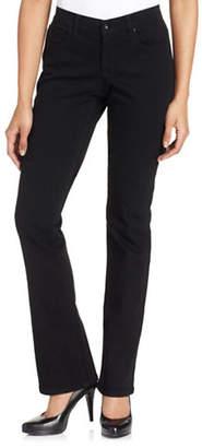 Style&Co. STYLE & CO. Petite Petite Tummy Control Modern Bootcut Jeans Noir Wash