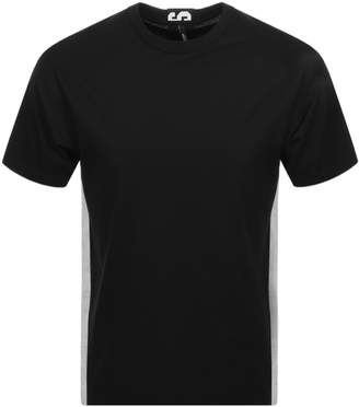 Versace Short Sleeved Logo T Shirt Black