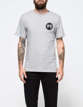 Soulland Ribbon T-Shirt in Grey Melange