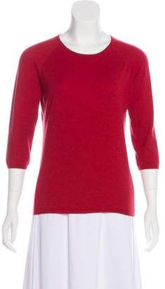 Agnona Long Sleeve Cashmere Top