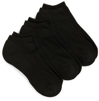 Men's Nordstrom Men's Shop 3-Pack No-Show Athletic Socks $10.50 thestylecure.com