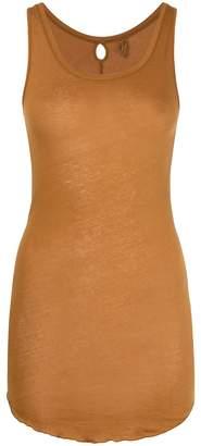 Humanoid scoop neck tank top