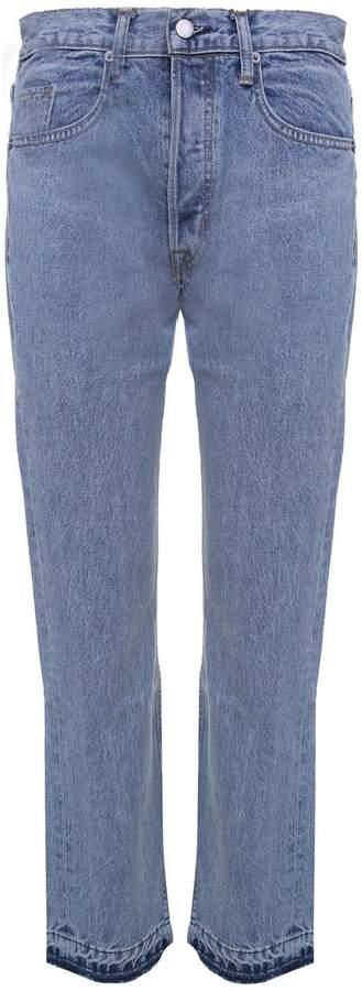 Helmut Lang New Crop Straight Cotton-denim Jeans