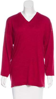 eskandar Cashmere Long Sleeve Sweater